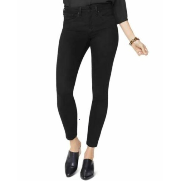 2e38599aa4d NYDJ Jeans | Jean Ami Skinny Ankle Stretch Black Denim | Poshmark